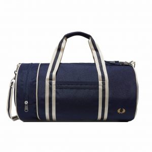 Fred Perry Sac de sport TWIN TIPPED BARREL BAG bleu - Taille Unique