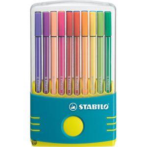 Stabilo ColorParade Pen 68 turquoise x 20 Assortis