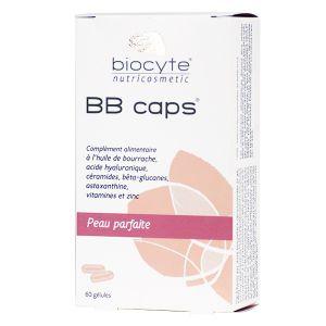Biocyte BB caps Peau parfaite - Complément alimentaire à l'huile de bourrache