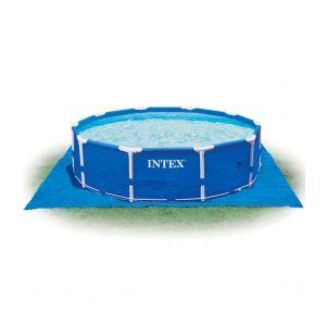 Image de Intex 58932 - Tapis de sol pour piscine ronde Ø 4,57 m