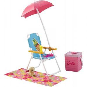 Mattel Chaise pour la plage Barbie