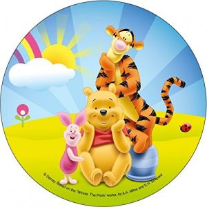 Modecor Disque azyme comestible Winnie l'ourson