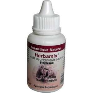 Herbamix Huile de massage ayurvédique poitrine et cou 50ml