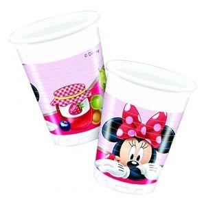 Unique Industries Inc 8 gobelets en plastique Disney Minnie Mouse
