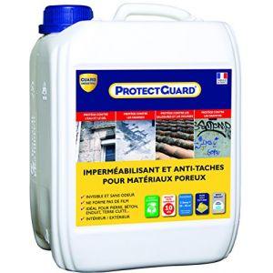 Guard Industrie Anti taches sols poreux, matériaux poreux - ProtectGuard 5L
