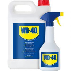 WD-40 Lubrifiant Degrippant Multispray 5l Jerrycan Plus Aerosol