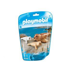 Playmobil 9069 Family Fun : Phoque etses petits