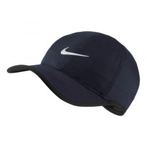 Nike Casquette Court AeroBill Featherlight Bleu marine