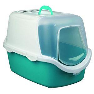 Trixie Vico Easy Clean - Maison de toilette pour chat (40 x 40 x 56 cm)