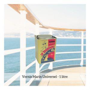Le tonkinois Vernis marin - 1L - Traitement bois, Fixateur bois