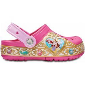Crocs Crocband Disney Princess Lights Clog Kids, Sabots Fille, Rose