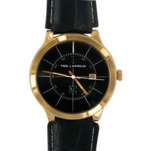 Ted Lapidus 5126102 - Montre pour homme avec bracelet en cuir