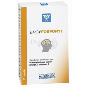 Laboratoire Nutergia Ergyfosforyl - 60 capsules