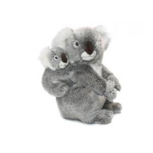 WWF Peluche Maman Koala avec bébé 28 cm