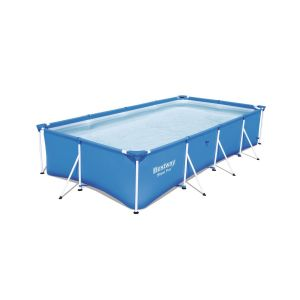 Bestway Piscine tubulaire rectangulaire - 400 x H. 81 cm