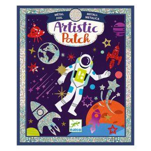 Djeco Kit Artistic Patch - Métallisé - Cosmos