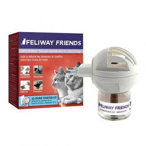 Ceva Feliway Friends diffuseur + recharge 48 ml