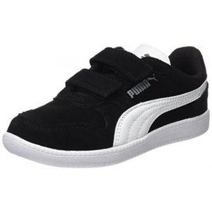 Puma Icra Trainer SD V PS, Sneakers Basses Mixte Enfant, Noir Black White, 30 EU