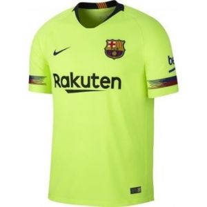 Nike Maillot de football 2018/19 FC Barcelona Stadium Away pour Homme - Jaune Taille XL