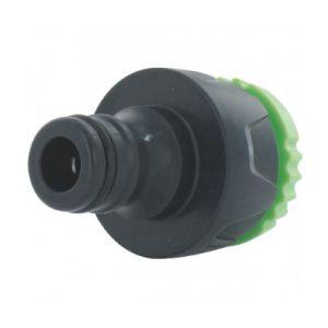 Cap Vert DY8023L - Nez de robinet avec réducteur Filetage 20 x 27 - 26 x 34 mm