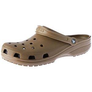 Crocs Classic, Sabots Mixte Adulte, Marron (Khaki), 46-47 EU