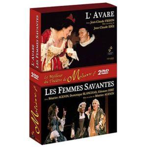 Coffret Molière : Femmes savantes + L'avare
