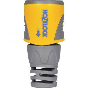 Hozelock 2050 6000 Raccord Rapide Diamètre: 12,5 et 15mm, Jaune/Gris, 17x13x20 cm