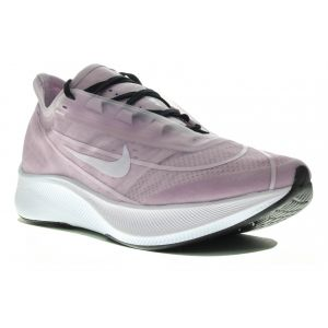Nike Running Zoom Fly 3 - Iced Lilac / Light Violet / White / Black - Taille EU 39