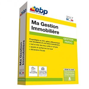 Ma Gestion Immobilière 2017 version 25 Lots pour Windows