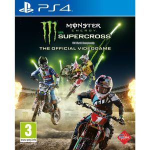 Monster Energy Supercross sur PS4