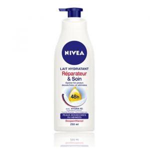 Nivea Lait hydratant réparateur et soin - 250 ml