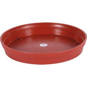 Eda Plastiques Soucoupe Toscane Pop rouge Ø 40 cm