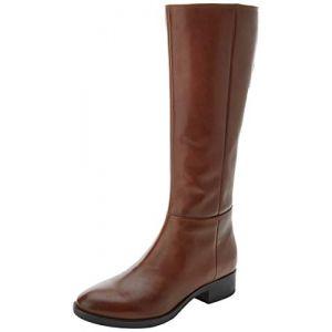 Geox D Felicity D, Bottes Hautes Femme, Marron (Brown C0013), 39 EU
