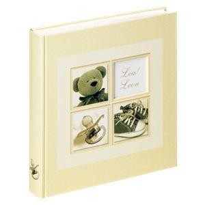 Walther Album photo naissance traditionnel à coller Sweet Things pour 216 photos (10x15 cm)