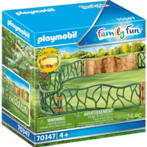 Playmobil Family Fun adventure zoo enclosure 70347