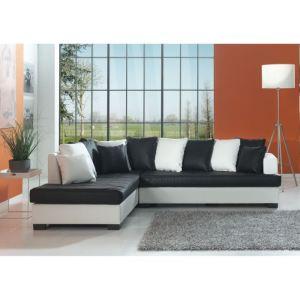 Canapé d'angle fixe gauche Bora