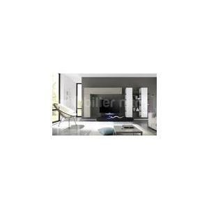 Mobilier nitro Lilo - Ensemble meuble TV laqué design