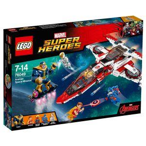 Lego 76049 - Super Heroes Marvel : La mission spatiale dans l´Avenjet