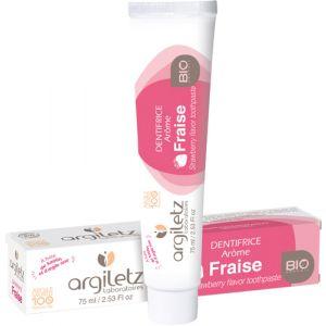 Argiletz Dentifrice Bio arôme fraise pour enfant (75 ml)