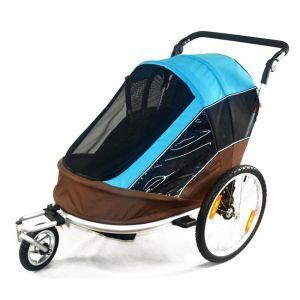 Maxxus Remorque vélo enfant pliable