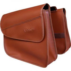 Velox Sacoches arrière pour porte-bagages Caramel (la paire)