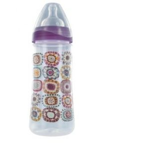 Bébisol Biberon col large anti-regurgitation 360 ml