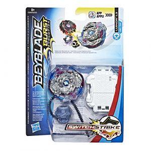 Hasbro Beyblade - Pack de Demarrage - Luinor L3, E0956, Bleu