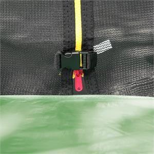 Klarfit Trampoline Rocketstart XXXL 400 cm avec filet de sécurité