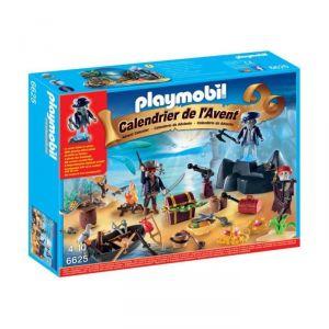 Playmobil 6625 - Calendrier de l'avent île au trésor pirate mystérieuse