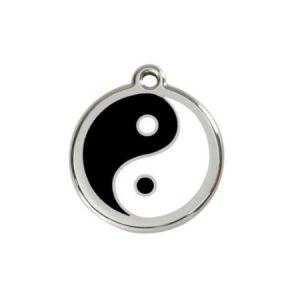 Chadog Médaille personnalisable motif Yin Yang