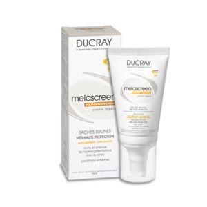 Ducray Taches brunes Melascreen Photoprotection - Crème légère SPF50+ UVA