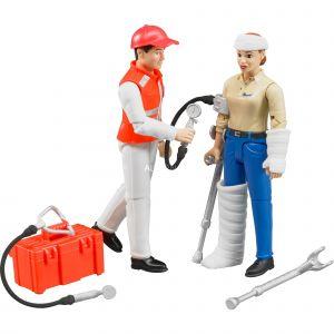 Bruder Toys 62710 - Set ambulance avec figurines et accessoires