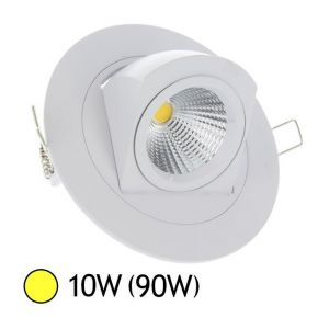 Vision-El Spot Led escargot COB 10W (100W) encastrable orientable Blanc chaud -
