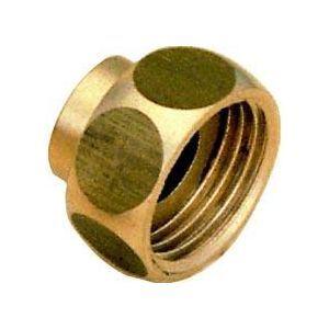 Altech Raccord 2 pièces droit douille laiton 26-34-22 8359Gcu (sachet de 2 pièces)